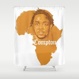 Kendrick Lamar Compton Africa Shower Curtain