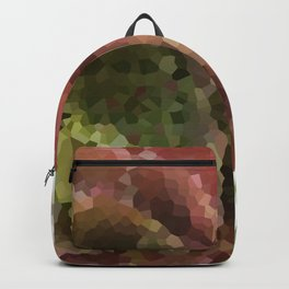 Crystallized Red Succulent Backpack