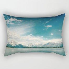 Nautical Tetons Rectangular Pillow