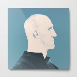 Architect Portraits: Peter Zumthor Metal Print