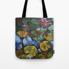 Water Lilies or All Kinds of Emotions /// by Olga Bartysh Tote Bag