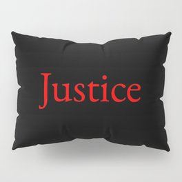 Justice 2- red Pillow Sham