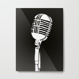 Sing it Metal Print