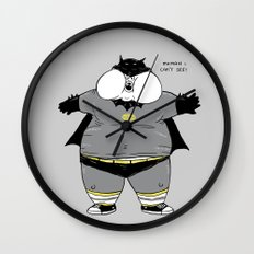 Fat Kid Costume Wall Clock