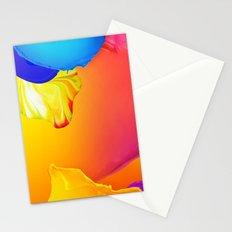 Flower in color spring Stationery Cards