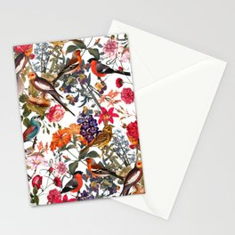 Floral and Birds XXXIII Stationery Cards