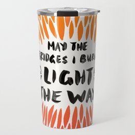Bridges Burned – Fiery Palette Travel Mug
