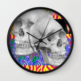 Skull Skull  Wall Clock