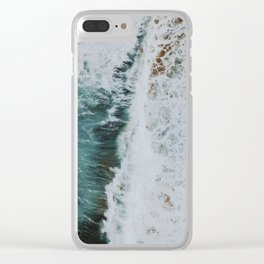 waves xvii / kaua'i, hawaii Clear iPhone Case