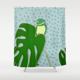 A Rainy Day Shower Curtain