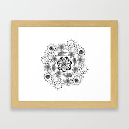 You're an illusion, for the lies I keep on living. Framed Art Print
