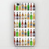 beer iPhone & iPod Skins featuring BEER by BearandBugle
