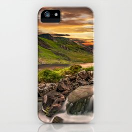 Tryfan and Llyn Ogwen Snowdonia iPhone Case