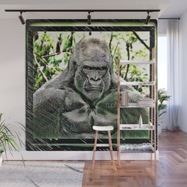 Primate Models: Mad Gorillas 01-01 Wall Mural