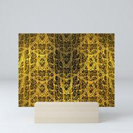 Victorian Gold Mini Art Print