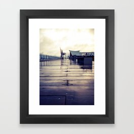 Olympia waterfront  Framed Art Print