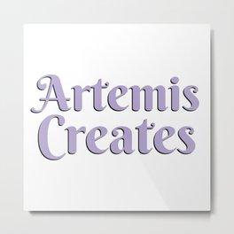 AC Logo Text Only Metal Print