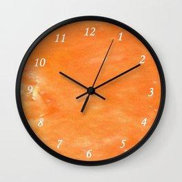 Melon Pulple Wall Clock