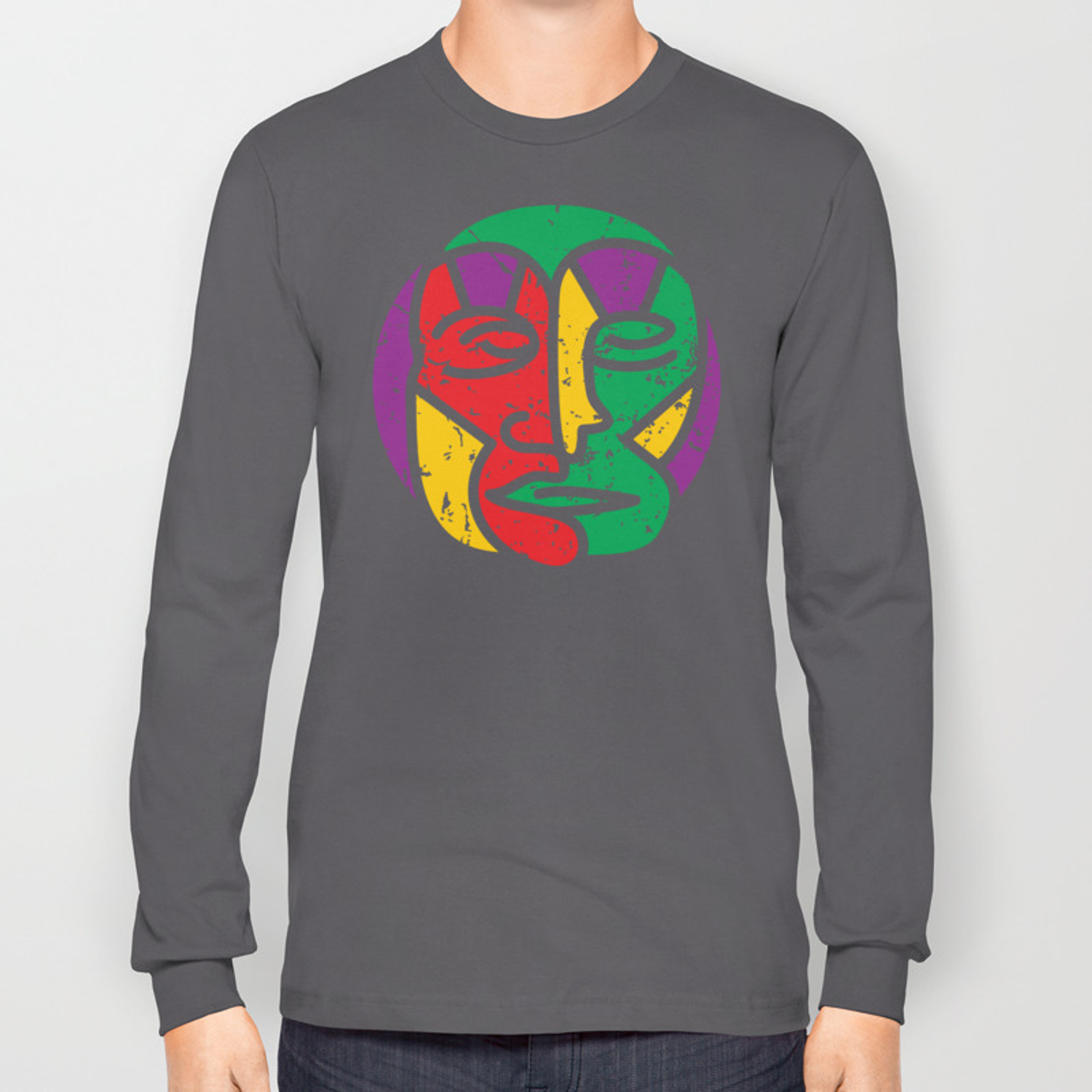 Modern Shaman In Trance State Long Sleeve T-shirt by jazzworldquest