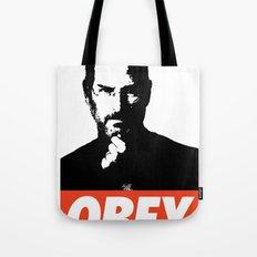 Obey Steve Jobs Tote Bag