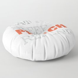 Eat, Sleep, Preach, Repeat - Funny Youth Pastor Gift Floor Pillow