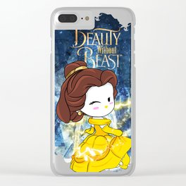 Hello Belle Kitty Beauty WIthout Beast Clear iPhone Case