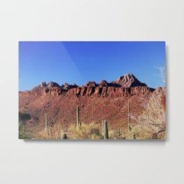 Picture Rocks Tucson Arizona 2039 Metal Print