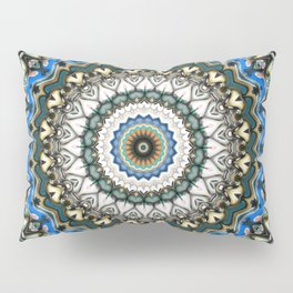 Ornate Colorful Mandala Pillow Sham