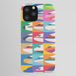 Retro Airline Nose Livery - USA iPhone Case