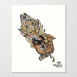 Henna Design 15 Canvas Print