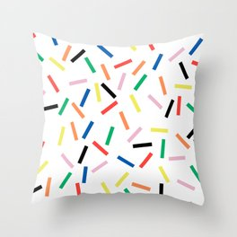 Sprinkles Fresh Throw Pillow
