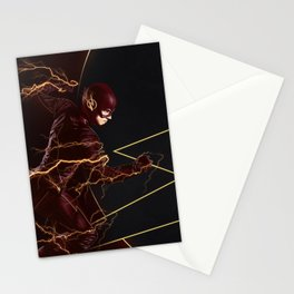 The Flash triptych FLASH Stationery Cards