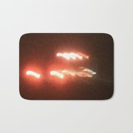 Abstracte Light Art in the Dark 19 Bath Mat