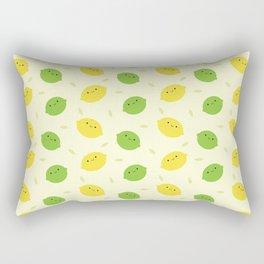 Kawaii Lemons & Limes Rectangular Pillow