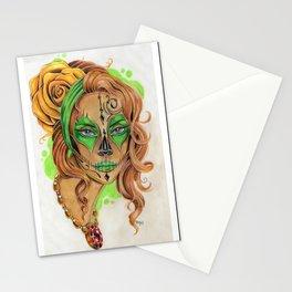 Sugar Skull Beauty Stationery Cards