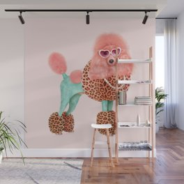 FUNKY POODLE Wall Mural