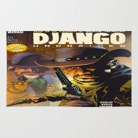 django Area & Throw Rugs featuring Django by Don Kuing