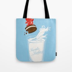 Sweets Surfing Tote Bag