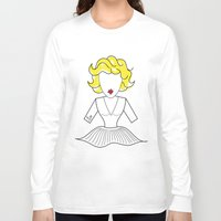 marylin monroe Long Sleeve T-shirts featuring MARYLIN by Analy Diego