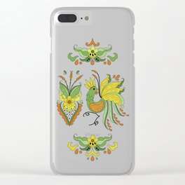Folklore Rooster - Eivor Clear iPhone Case