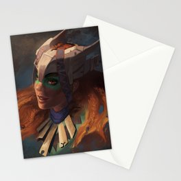 Huntress of the Frozen Wilds Stationery Cards