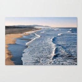 Lands End Beach Canvas Print