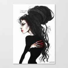 Amy ' I just need a friend'' Canvas Print