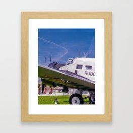 JU - 52 Framed Art Print