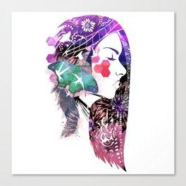 Fantasy girl 3 Canvas Print