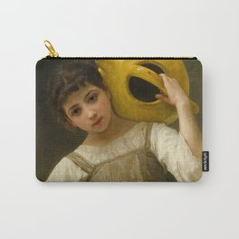 """William-Adolphe Bouguereau """"The Water Girl"""" Carry-All Pouch"""