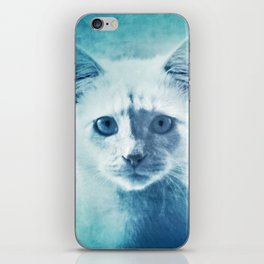 Soft Kitty iPhone Skin