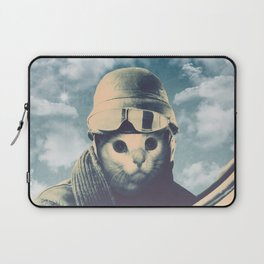 Flight Cat Laptop Sleeve