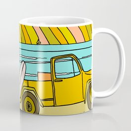 classic summer surf vibes forever Coffee Mug