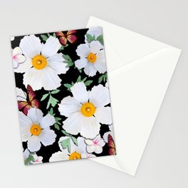 Matilija Poppies and Plumeria Stationery Cards
